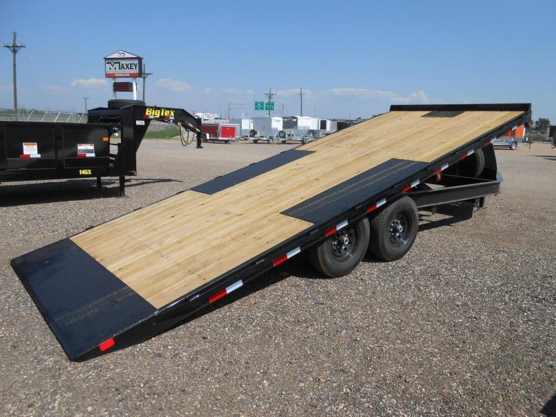 2022 Big Tex Trailers 14OT-22 Deck Over Power Tilt Flatbed Trailer