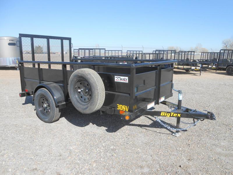 2021 Big Tex Trailers 30SV-10 Solid Side Utility Trailer