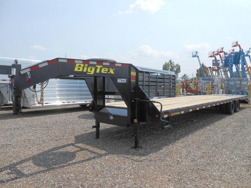 2022 Big Tex Trailers 22GN-35-5MR Gooseneck Flatbed Trailer