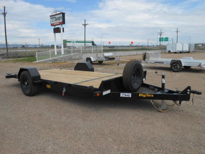 2022 Big Tex Trailers 70ST-16 Tilt Deck Equipment Trailer