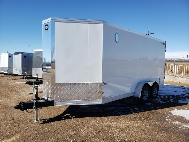 2021 Wells Cargo WVHD716T3-DBL DRS Heavy Duty Enclosed Cargo Trailer
