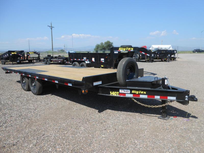 2021 Big Tex Trailers 14OT-26 Deckover Power Tilt Flatbed Trailer