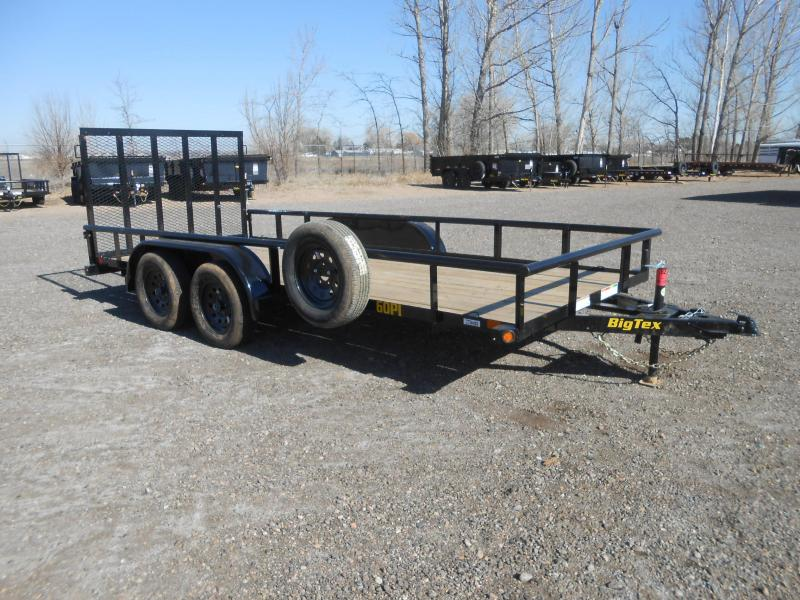 2021 Big Tex Trailers 60PI-16 Utility Trailer