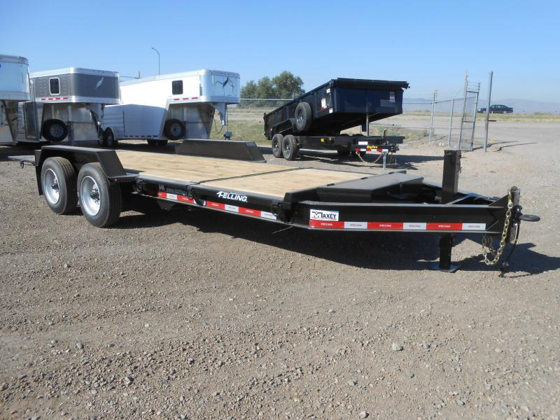 2022 Felling Trailers FT-14IT-20 Heavy Duty Tilt Deck Equipment Trailer