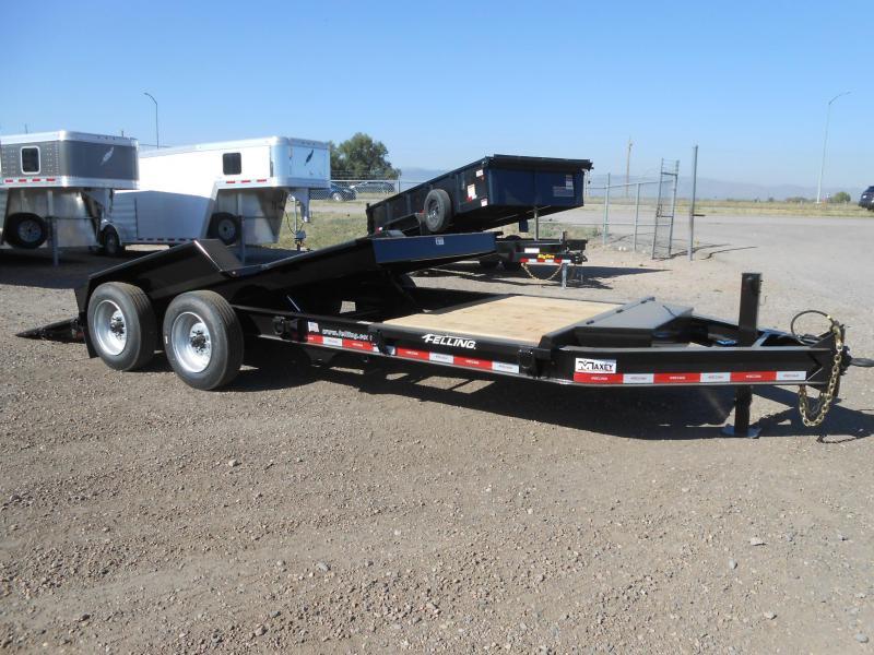 2022 Felling Trailers FT-14IT-20 Heavy Duty Tilt Deck Equipment Trailer