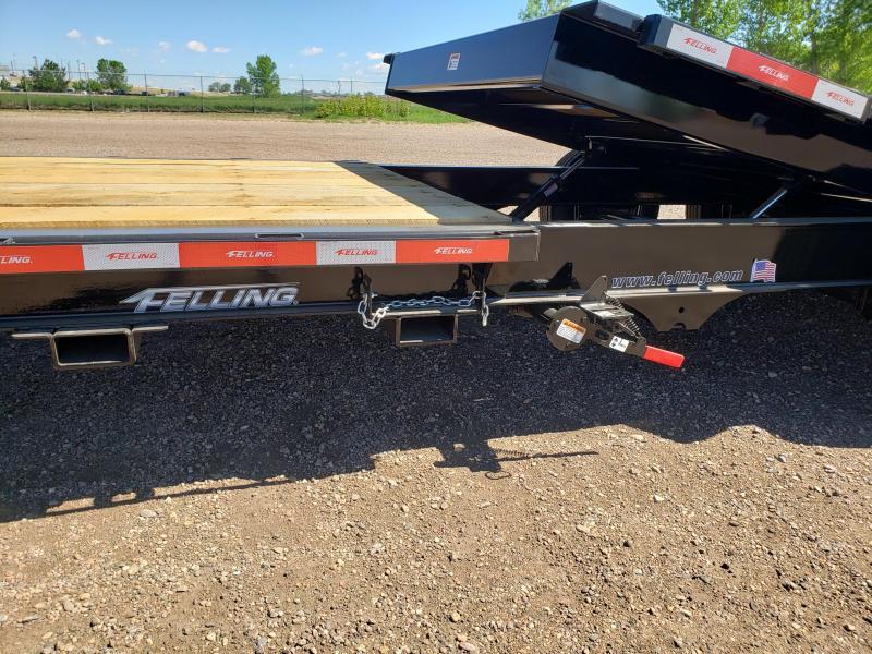 2022 Felling Trailers FT-14IT-22GN-TILT Gooseneck Equipment Trailer