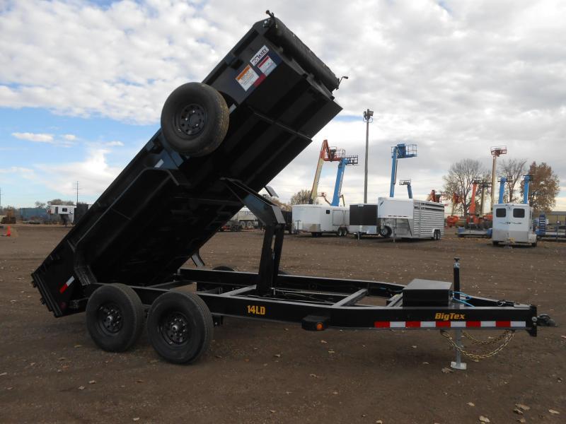 2022 Big Tex Trailers 14LD-14 Low Profile Dump Trailer