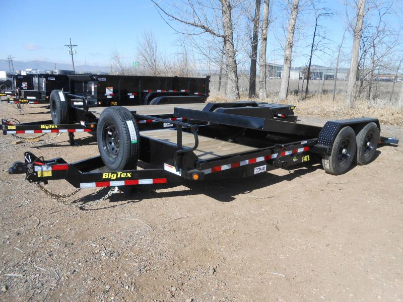 2021 Big Tex Trailers 14TL-20 Tilt Deck Equipment Trailer