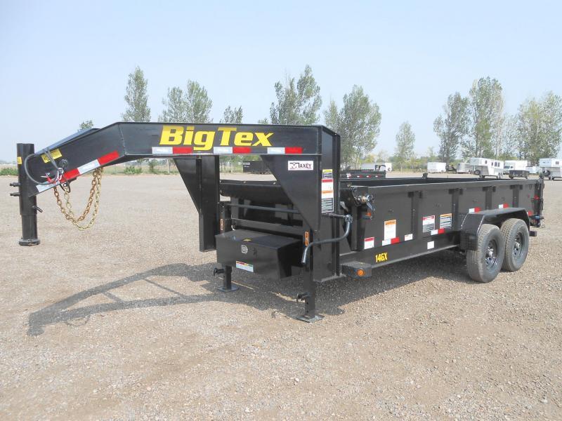 2021 Big Tex Trailers 14GX-16 Gooseneck Dump Trailer