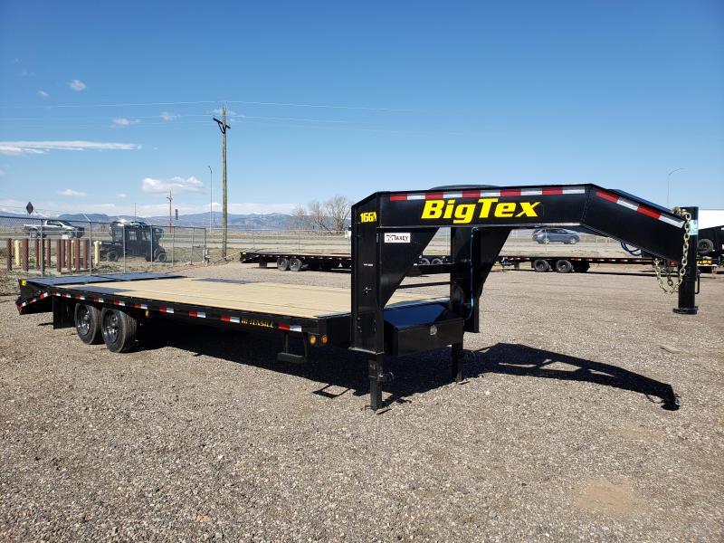 2022 Big Tex Trailers 16GN-20+5MR Gooseneck Flatbed Trailer