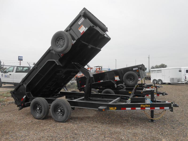 2022 Big Tex Trailers 14LP-16 Low Profile Dump Trailer