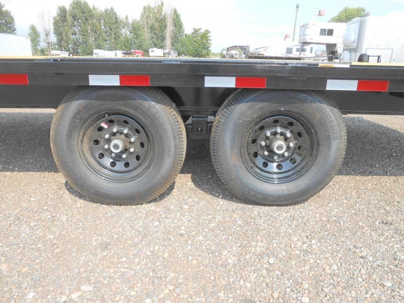 2021 Big Tex Trailers 14OA-20 Bumper Pull Deck Over Flatbed Trailer