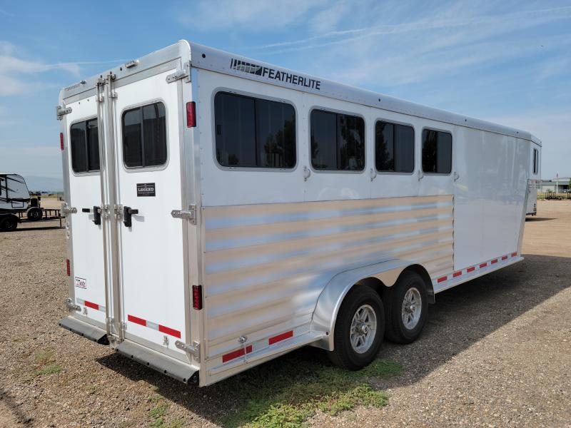 2022 Featherlite 7541-404A Gooseneck 4 Horse Trailer