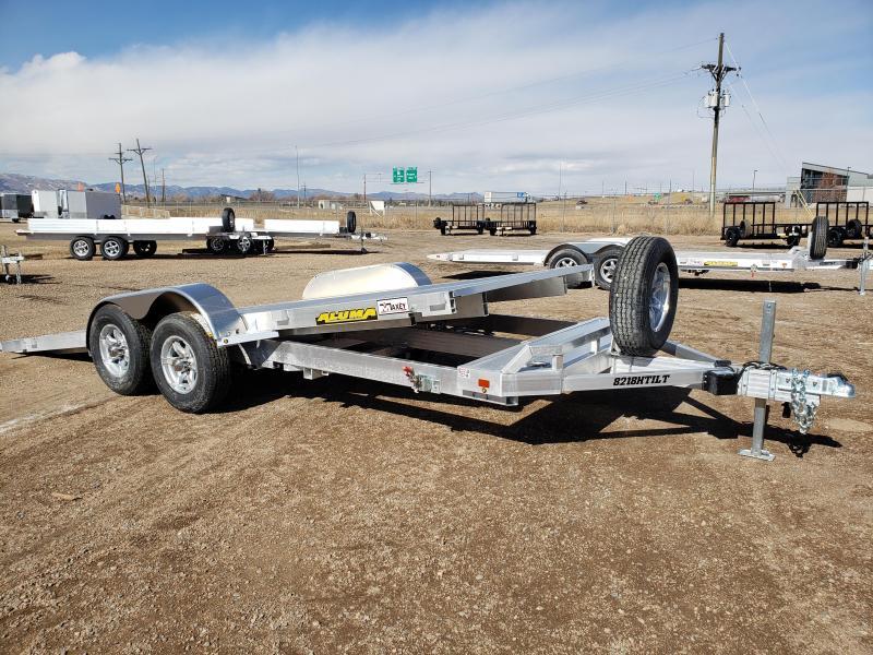2022 Aluma 8218H-TILT Aluminum Car / Racing Trailer