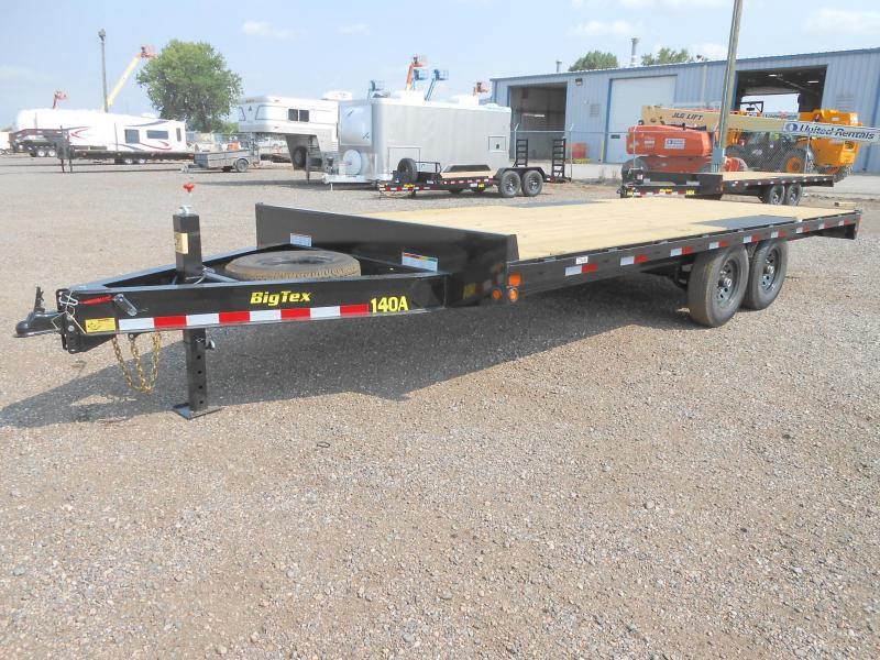 2022 Big Tex Trailers 14OA-20 Bumper Pull Deck Over Flatbed Trailer