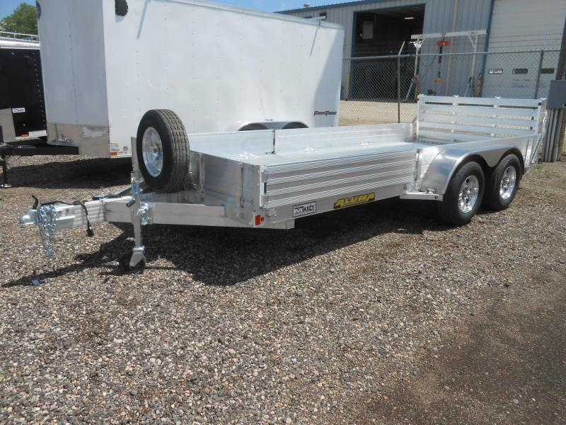 2022 Aluma 8116TA-EL-R-BT-SR Aluminum ATV / Utility Trailer