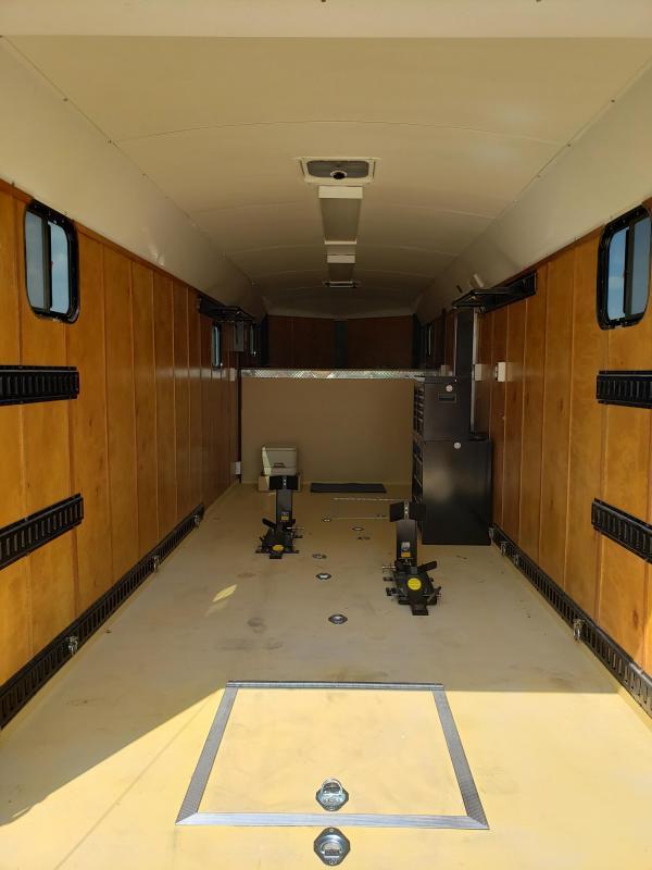 2012 H&H Trailers Goosenck Motorcycle / Toy Hauler Enclosed Cargo Trailer