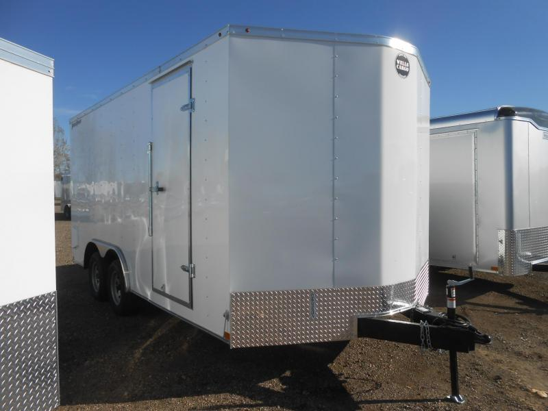 2021 Wells Cargo FT8516T2-D-RD Enclosed Cargo Trailer