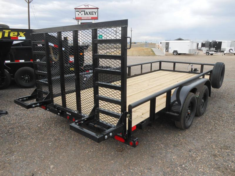 2021 Big Tex Trailers 70PI-18X Utility Trailer