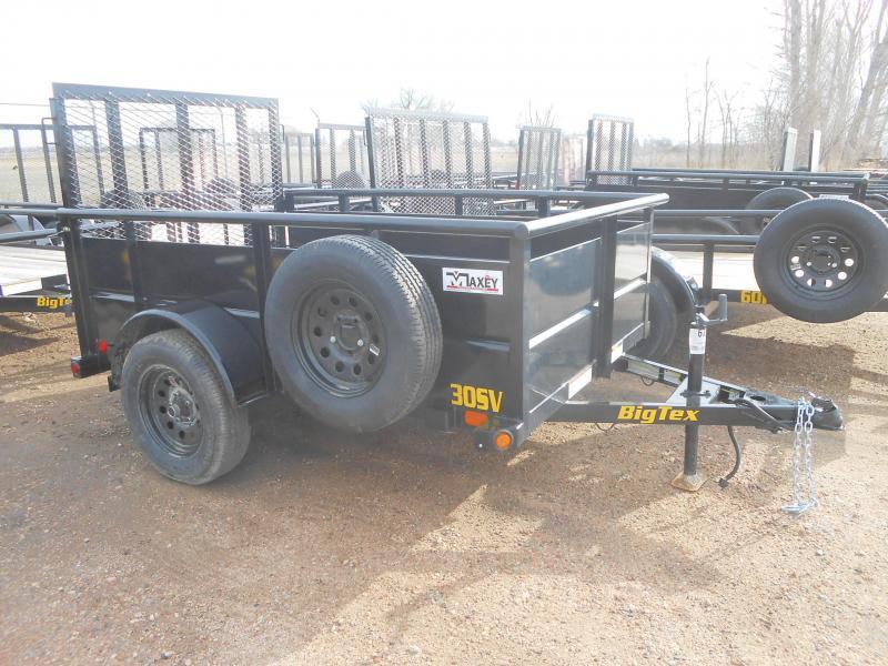 2022 Big Tex Trailers 30SV-08 Solid Side Utility Trailer