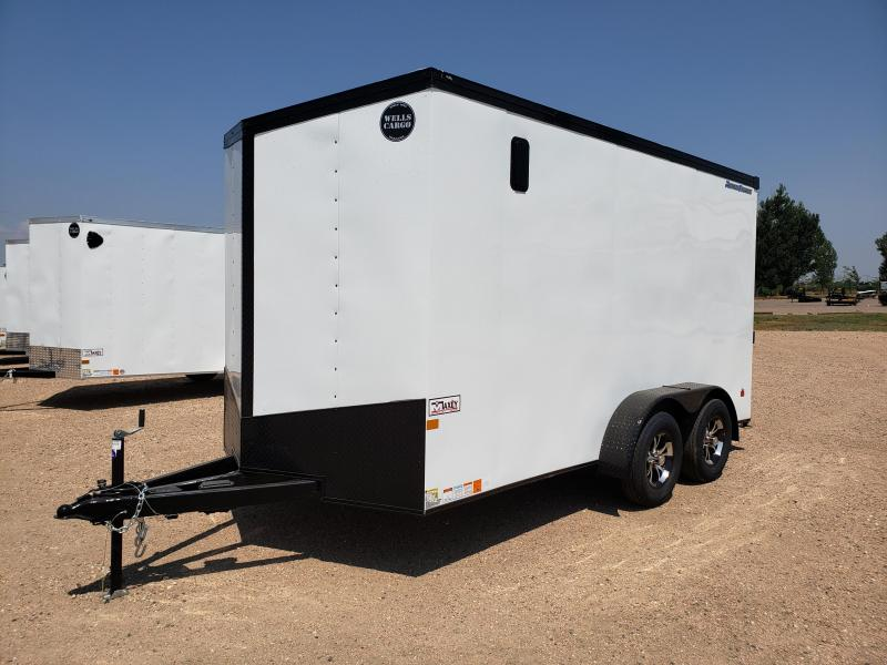 2022 Wells Cargo RFV714T2-RD Enclosed Cargo Trailer