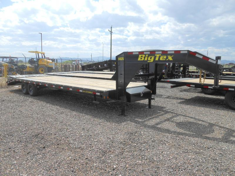 2022 Big Tex Trailers 14GN-25+5MR Gooseneck Flatbed Trailer