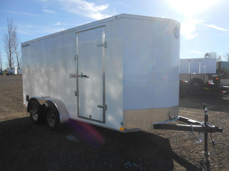 2021 Wells Cargo FT714T2-D-RD Enclosed Cargo Trailer
