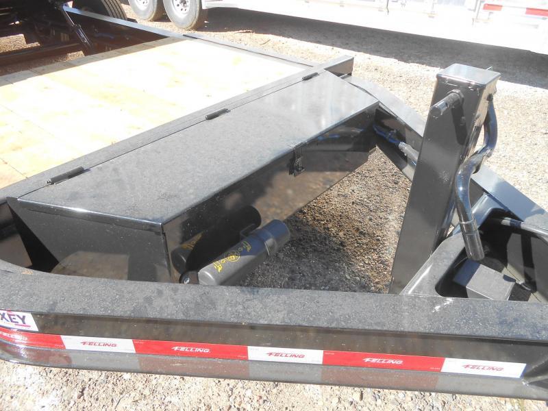 FT-16IT-20 Super Duty Tilt Deck Pintle Equipment Trailer