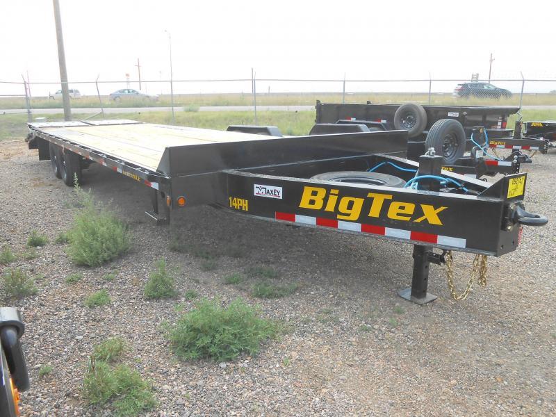 2022 Big Tex Trailers 14PH-25+5MR Pintle Deckover Trailer