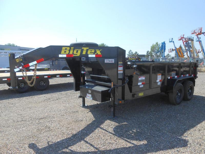 2021 Big Tex Trailers 14GX-14 Gooseneck Dump Trailer