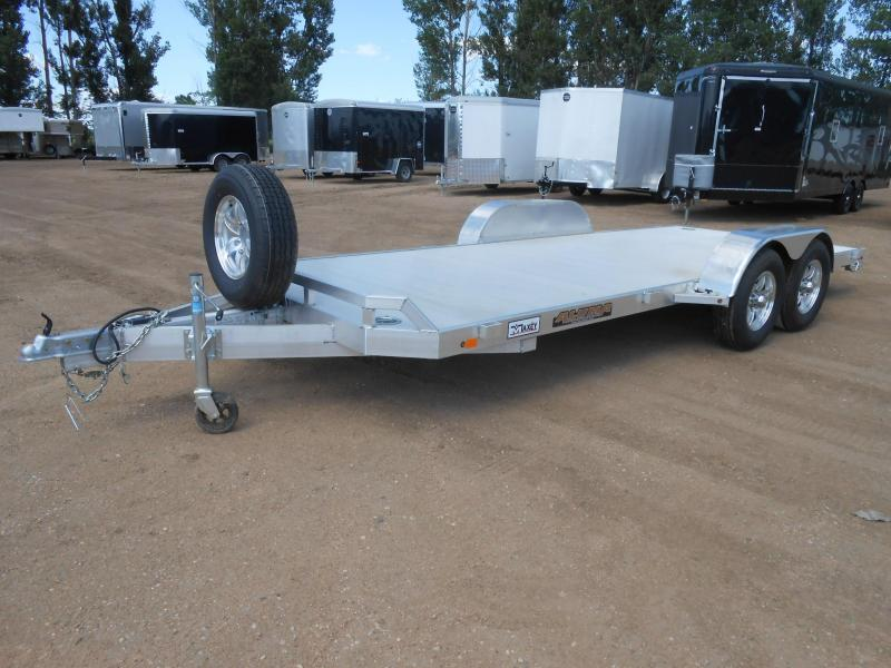 2021 Aluma 8218H Aluminum Car / Racing Trailer