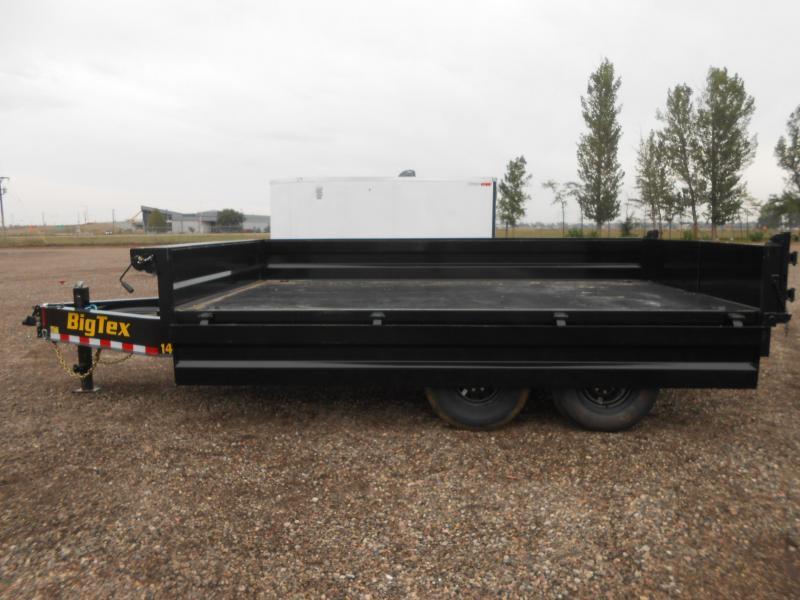 2021 Big Tex Trailers 14OD-14 Deck-Over Fold Down Sides Dump Trailer