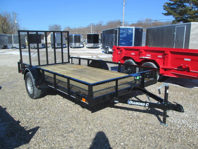 2021 12X77 Diamond C GSA135 Utility Trailer. 41313