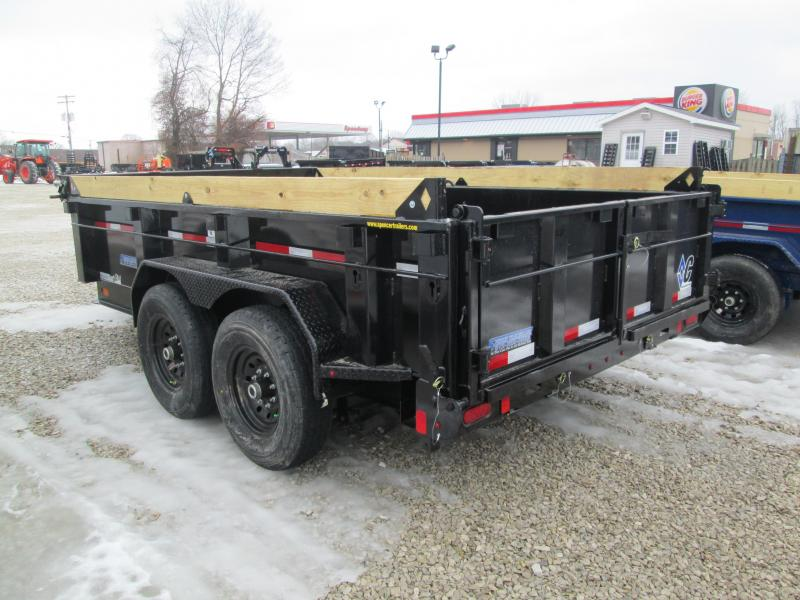 "2021 82""x12' 14.9k Load Trail Low-Pro Dump. 42458"