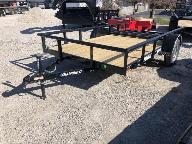 2021 12x77 Diamond C GSA135 Utility Trailer. 36931