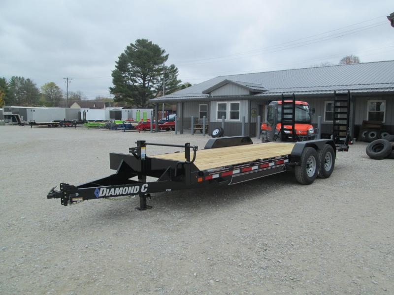 "2021 18'+2'x82"" 14K Diamond C EQT207 Equipment Trailer. 35733"
