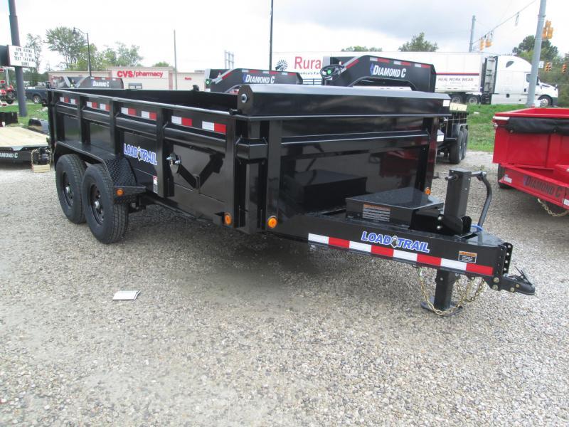 2022 83x14 14k Load Trail DT8314 Dump Trailer. 50711