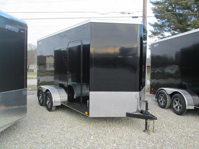 2021 14'+2'x7' 7K Legend STV Cyclone Enclosed Cargo Trailer