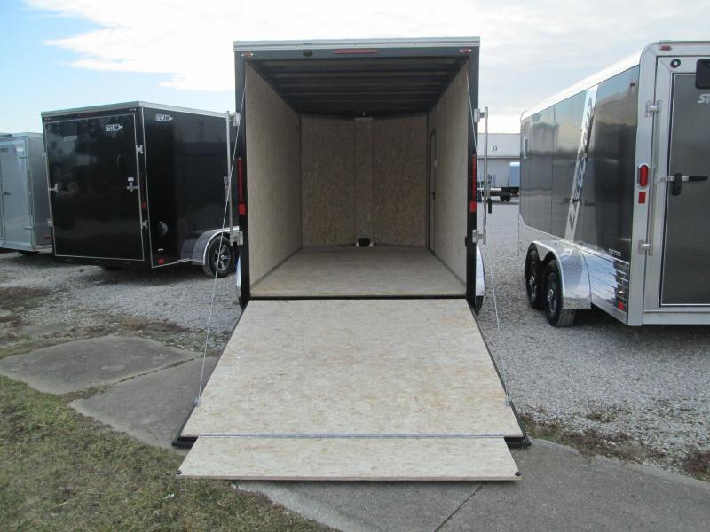 2021 14'+2'x7' 7K Legend STV Cyclone Enclosed Cargo Trailer