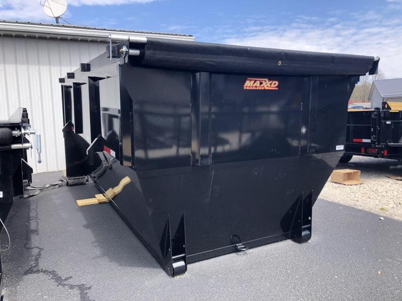 2020 14' MAXXD ROXB Roll Off Dump Bin Trailer. 71419