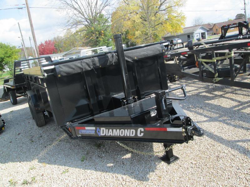 2021 16x82 14.9K Diamond C LPT207 Dump Trailer. 35431