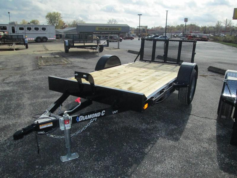 2021 10x60 Diamond C UVT135 Utility Trailer. 36529