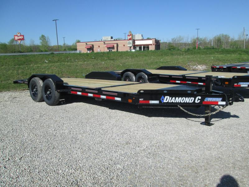 "2021 16'+4'X82"" 14.9k Diamond C HDT Equipment Trailer. 46309"