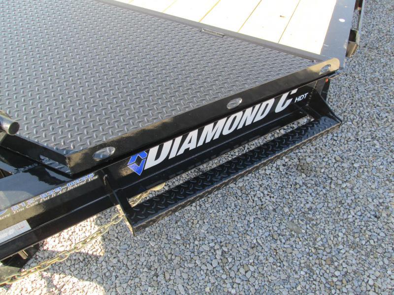 """2021 16'+4'X82"""" 14.9k Diamond C HDT Equipment Trailer. 46309"""