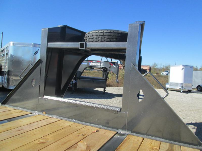 2021 FMAX 212MR 25+5x102 25.9K Diamond C Engineered Beam Equipment Trailer.