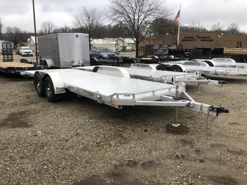 2020 7'x22' 10k Legend Aluminum Car Hauler Tilt. 17758