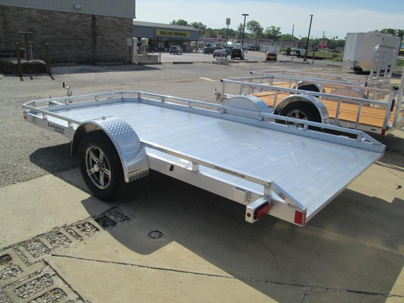 2021 14' Legend Tilt Utility Trailer. 17107