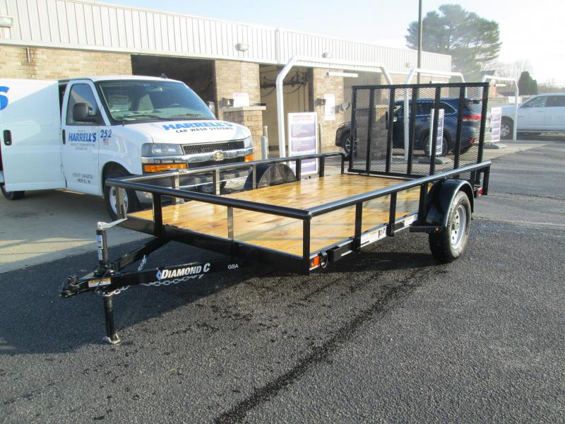 2021 12x77 Diamond C GSA135 Utility Trailer. 36935