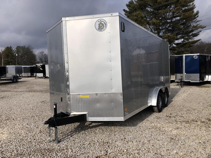 2021 7.5x16 7k Darkhorse Enclosed Cargo Trailer. 103512