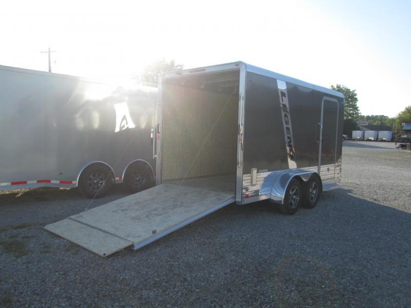 2022 7x14+V-Nose 7K Legend DVN Enclosed Cargo Trailer. 317100